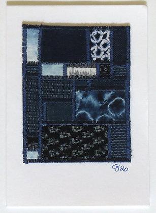 JG Textile Art Card 14