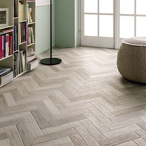 Authentic Herringbone Bleeched Beech