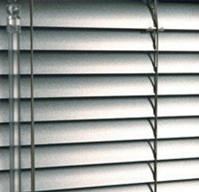 Silver Aluminium Blind