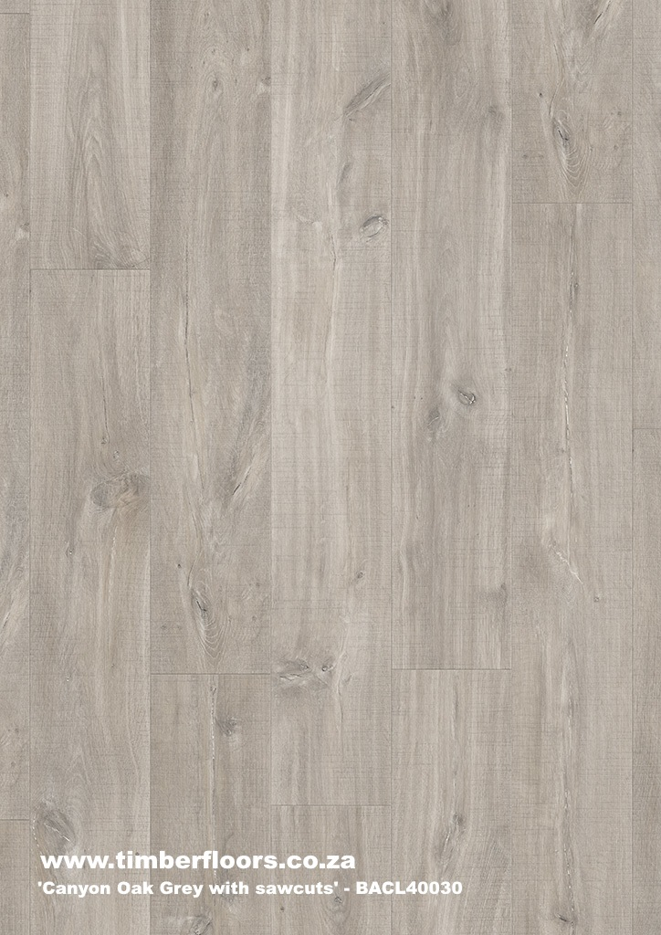 Canyon Oak Grey with Sawcuts Top
