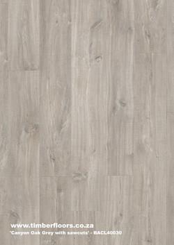 Canyon Oak Grey with Sawcuts Top