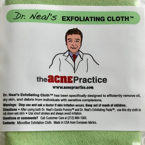 Microfine Exfoliating Cloth