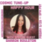 Advert Cosmic Tune-Up Happy Hour oneness