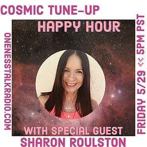 Advert Cosmic Tune-Up Happy Hour oneness