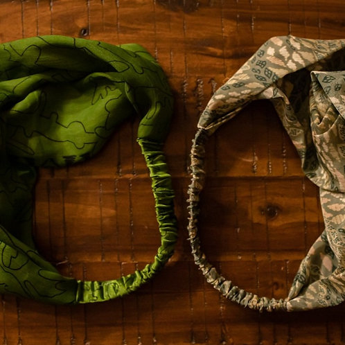 Recycled Silk Headbands