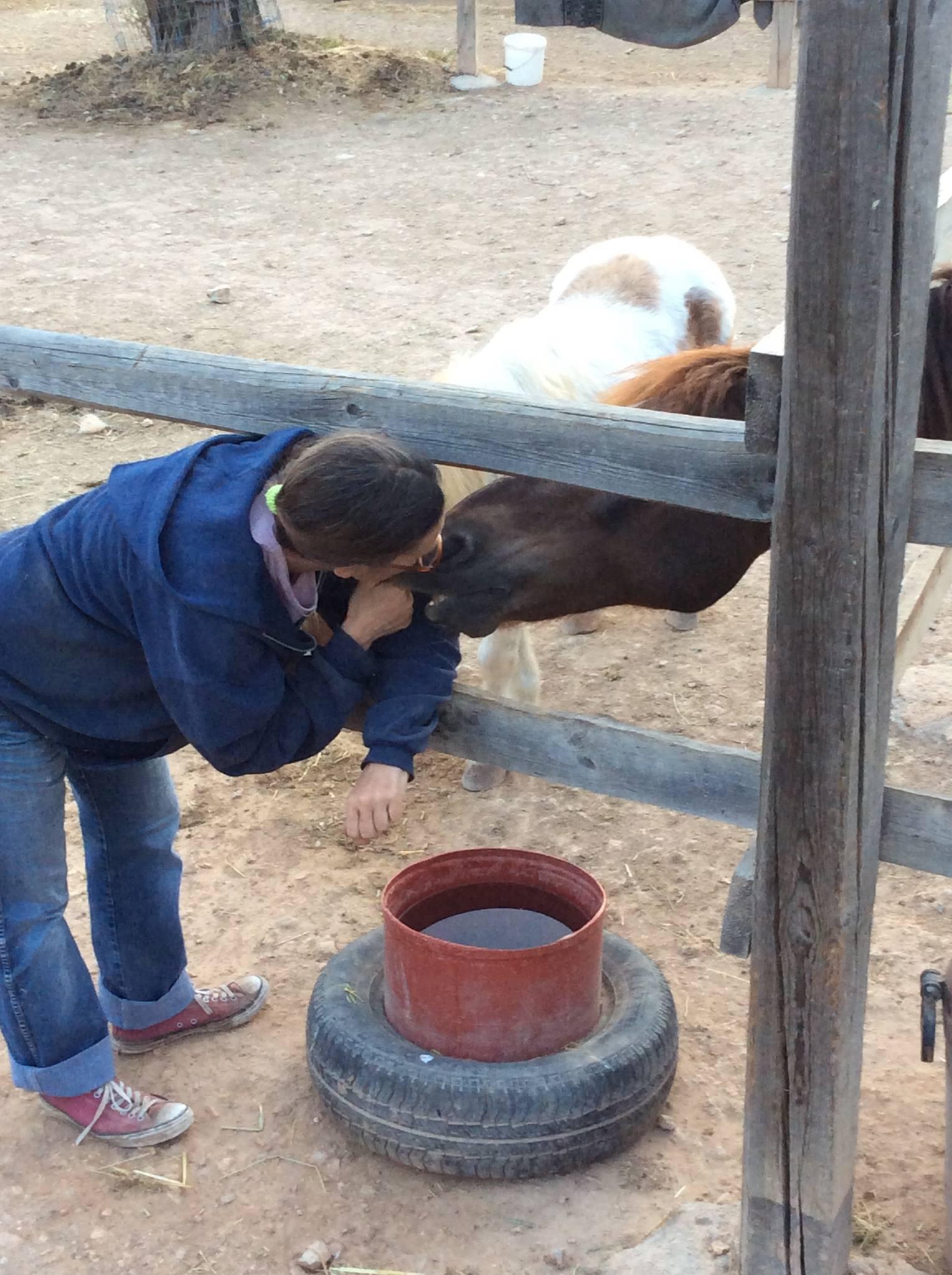 alexia and horse
