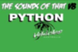 Python Vehicles V8