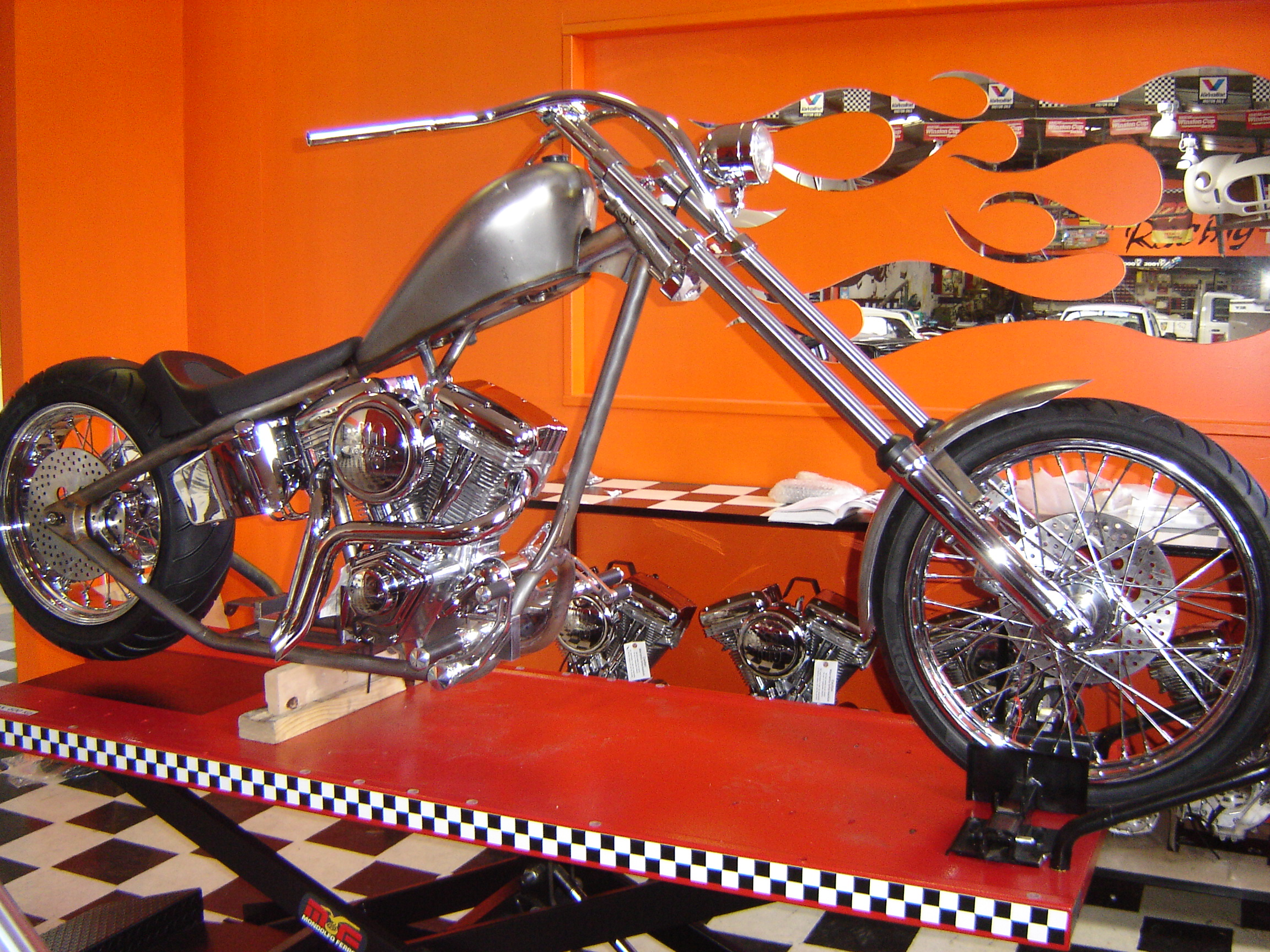 Python Choppers Showroom 056