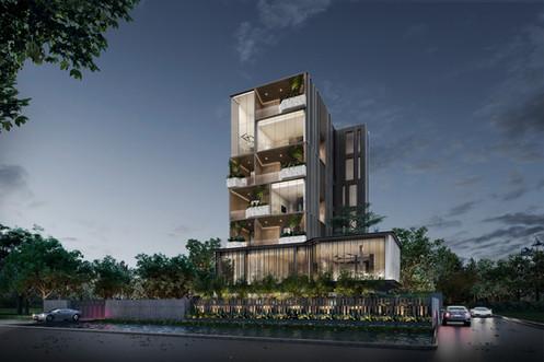 Khun Jip Residence by PAON Architects