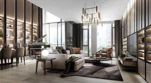 Sukhothai Residences by PAON Architects