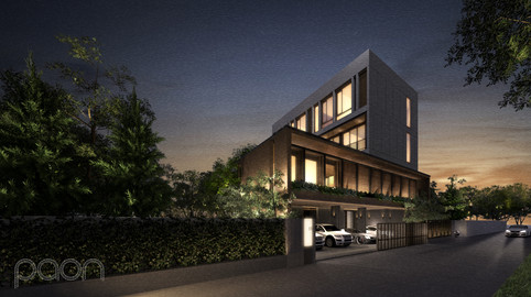 RAMA SIX Private Residence by PAON ARCHITECTS