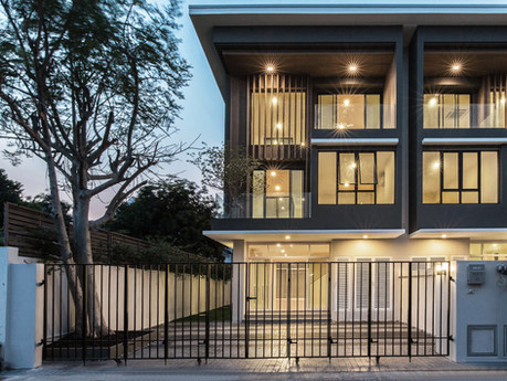 FLEXI Townhome by PAON ARCHITECTS