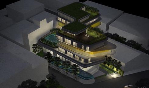 SKILA Hotel by PAON ARCHITECTS