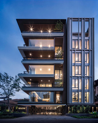 KALM PENTHOUSE by PAON ARCHITECTS