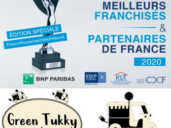 GREEN TUKKY® sur le plateau de BFM Business pour la remise des Trophées IREF 2020