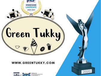 GREEN TUKKY® RECOIT LE PRIX DE LA RESPONSABILITE ENVIRONNEMENTALE