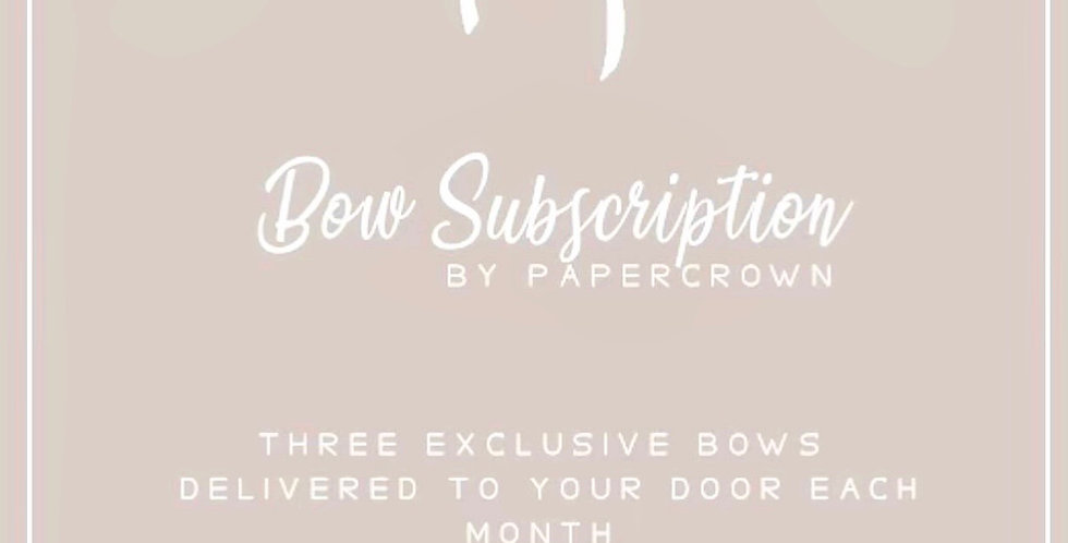 BOW SUBSCRIPTION