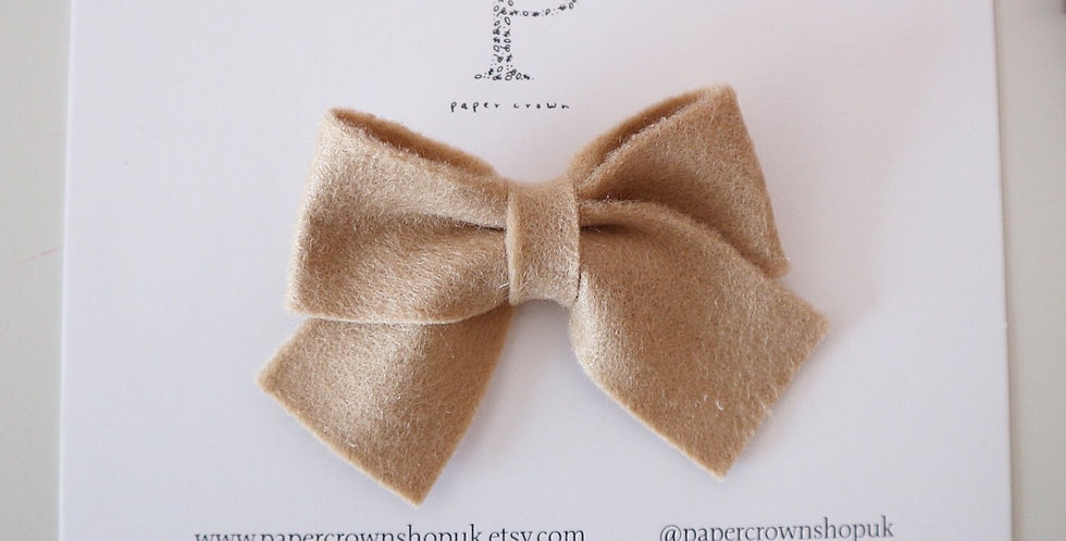 TOFFEE PERRIE BOW