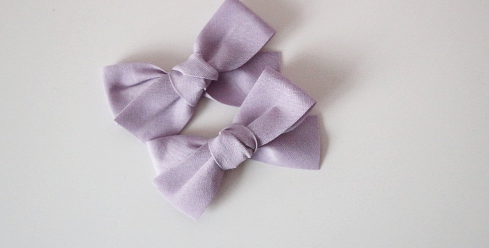 OVERSIZED COTTON BOWS