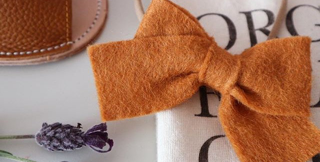RUST PERRIE BOW