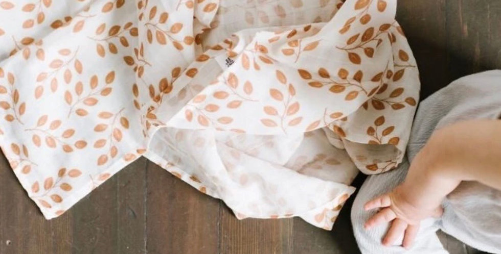 Amber Leaves Swaddle