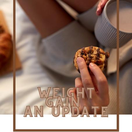 My weight gain journey #2