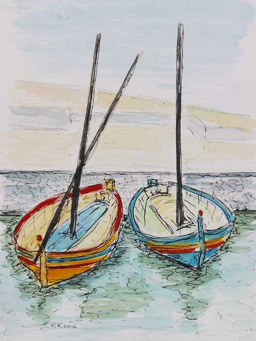 'Boats at Collioure'