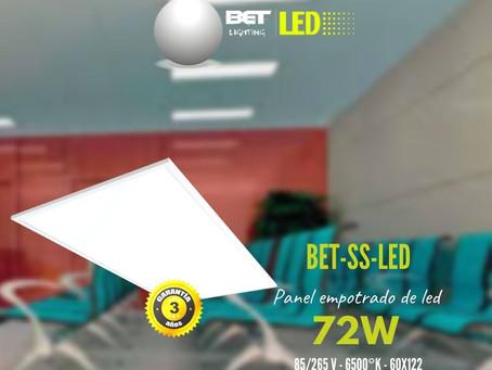 Panel de empotrar de LED bet lighting modelo BET-SS-LED 60X122