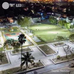 Canchas deportivas ubicada Tampico, Tamaulipas.