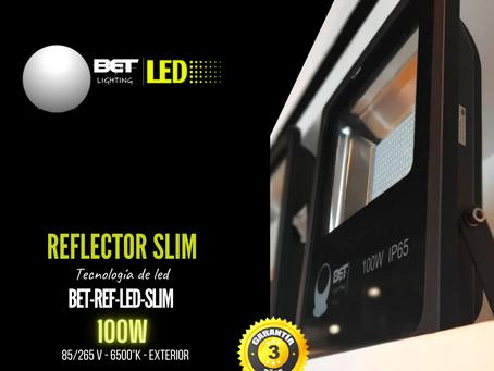 Reflector de led slim potencia 100W para exterior Bet lighting