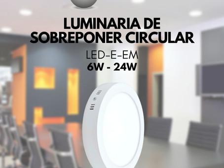 Sobreponer circular de LED modelo LED-E-EM Bet lighting