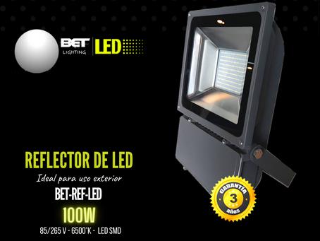 Reflector de led 100W para exterior color gris Bet lighting