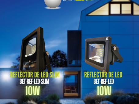 Reflector de led 10W Bet lighting modelo BET-REF-LED-SLIM / BET-REF-LED
