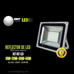 Reflector de led para exterior color gris modelo BET-REF-LED Bet lighting