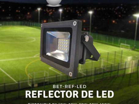 Reflector de LED Gris Modelo BET-REF-LED Bet lighting exterior