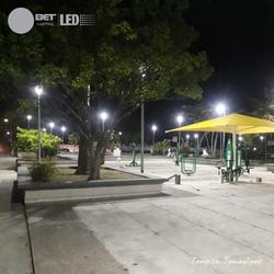 Plaza pública ubicada Tampico Tamaulipas.