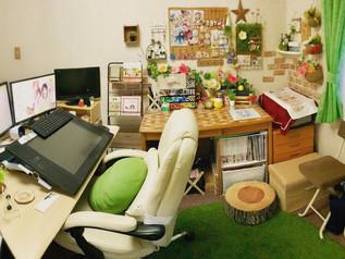 作業部屋の紹介