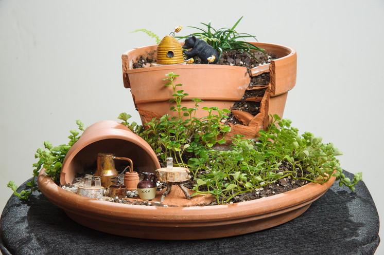 Moonshine Still Miniature Fairy Garden