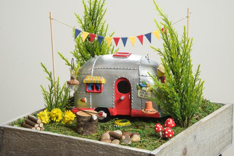 Camper Fairy Garden