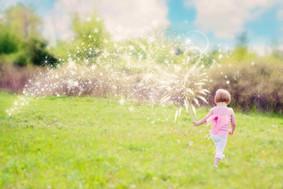 Sparkle Pink Fairy Child
