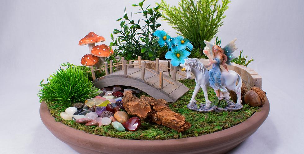 Square Dancer Fairy Garden Kit