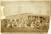Original 1885 Manilla Public School Phot