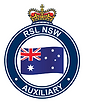 RSL NSW Auxilliary badge