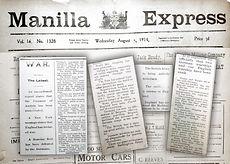 1914 Manilla Express news