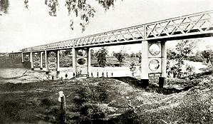 Manilla BridgeFromTheNorthernBank 1886.p