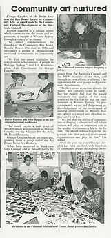 Garage Graphix-Panthers News 1991