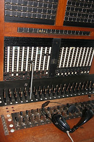 Manilla telephone exchange switchboard