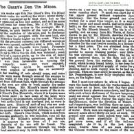 1873 The GIANT's DEN TIN MINES [a]