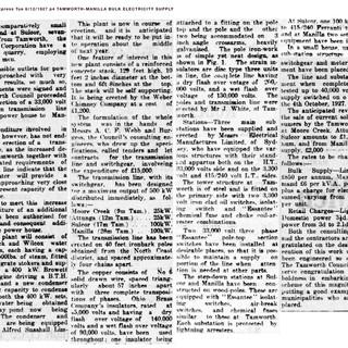 1927 Tamworth-Manilla Bulk Electricity 2|2
