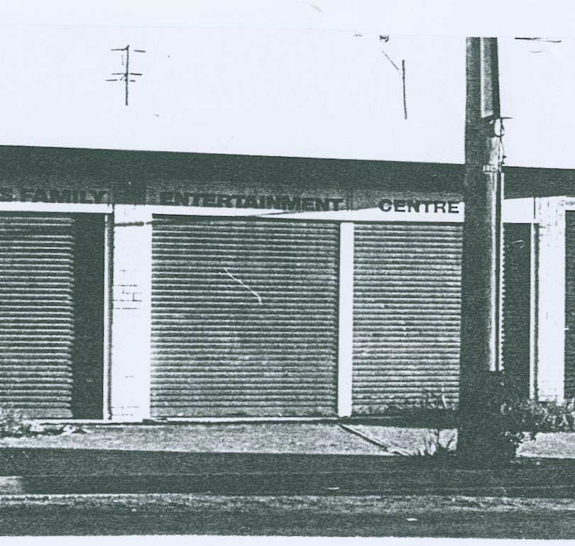The former Nighthawk's Family Entertainment Centre Blacktown (known as 'Fatman's') when we found it.